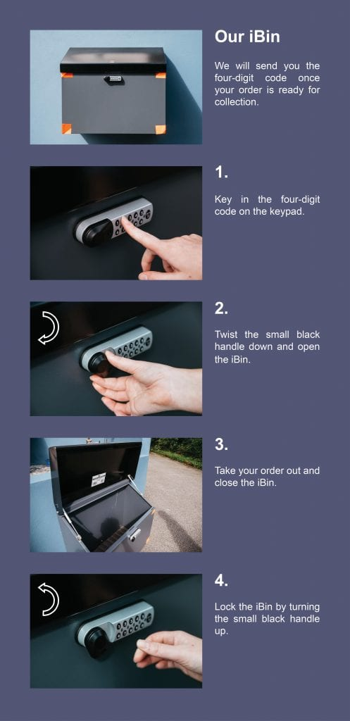 iBin instructions