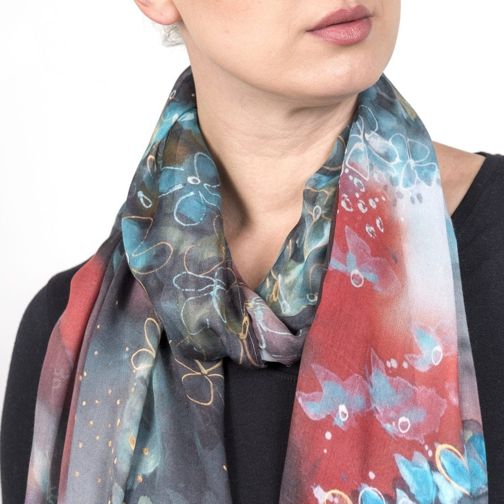 Petals in the Wind - Scarf